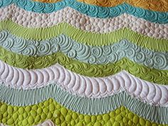 Quilting Is My Bliss: Metro Waves