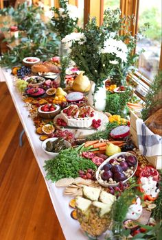 grazing table for Sophie and Jacks wedding. Charcuterie And Cheese Board, Cheese Boards, Dinner Party Table, Grazing Tables, Cheese Platters, Food Presentation, Food Art, Catering, Table Decorations