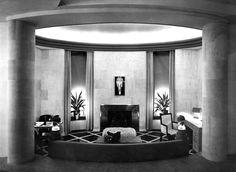 William Haines Desert Living Room design for the 1939 Golden Gate International Exposition in San Francisco.