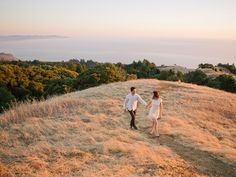Mt. Tamalpais engagement session in Marin, Country.