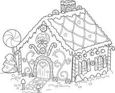 FUN & LEARN : Free worksheets for kid: ภาพระบายสี รูป บ้าน