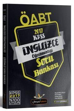 2017 ÖABT İngilizce Öğretmenliği Tamamı Çözümlü Soru Bankası Beyaz Kalem Yayınları