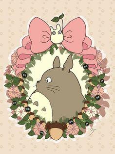 Totoro - an anime character by Hayao Miyazaki