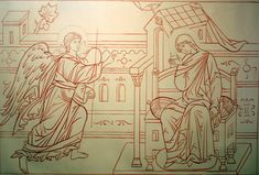 sketch annunciation   Flickr - Photo Sharing!