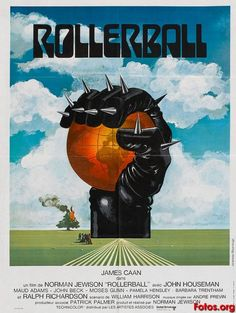 Original Rollerball Movie. A must watch film unlike the dross disguised as a remake from a few years back.