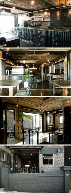 Q Place Shopping Mall Interior Comparison Quote Service – Wine World Bistro Interior, Cafe Interior, Shop Interior Design, Café Design, Deco Design, Coffee Shop Bar, Coffee Shop Design, Cafe Restaurant, Restaurant Design