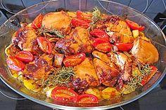 Toskanischer Hähnchen - Auflauf