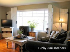 Funky Junk Interiors: Wooden gate screens