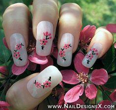 50 asombrosos acrílico Diseños Nail Art & Ideas 2013/2014