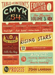CMYK Magazine by Mary Kate McDevitt