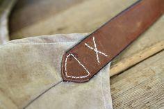 DIY Fringe Bag Tutorial (attaching leather handle) via lilblueboo.com