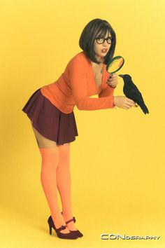 Character: Velma Dinkley / From: Hanna-Barbera's 'Scooby Doo' Cartoon / Cosplayer: Unknown