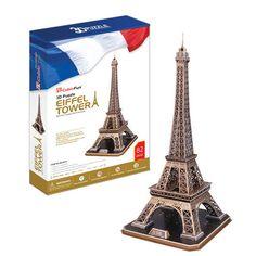 3D Puzzle - Eiffle Tower (Large) (82 pc) - SuperSmartChoices