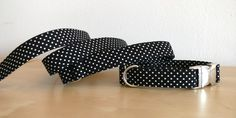 STITCHBULLY Halsband Leine oder Set Punkte von stitchbully  auf DaWanda.com