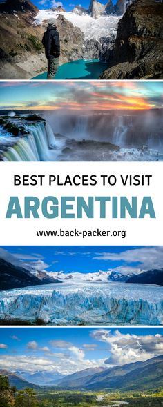 10 of the very best places to visit in Argentina, from Bariloche (the gateway to Patagonia) to Buenos Aires to Mendoza and beyond. The ultimate Argentina itinerary + practical tips on things to do. Travel ideas for South America. | Back-packer.org #Argentina