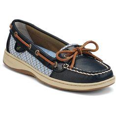 Sperry Top-Sider Blue Angelfish boat shoe, moccasin loafer