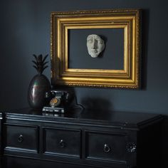 House Tour - Rachel Edmonds. Bedroom inspiration. Moody interiors. Dark, rich colours with gold accents #GothicHomeDecor
