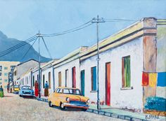 Bo Kaap African Art, Cape Town, South Africa, Artworks, Buildings, Artists, Places, Image, Artist