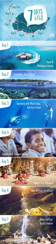 Have a week in #Fiji and wondering what to do? Don't worry - We've got it covered! #BackpackFiji