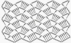 Crocheted pattern no 5