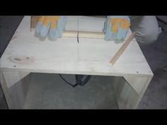 sierra de mesa facil y barata - YouTube