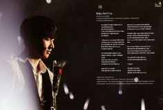 10 | [ Baby, Don't Cry ] Exology Chapter 1 - On Stage & Off Stage Photobook