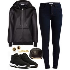 I got a d*rty mind I got filthy ways I'm trying to bathe my ape In your milky way by hosana-tsarnaev on Polyvore featuring moda, T By Alexander Wang, Pieces, Tory Burch, Chanel and AirJordan