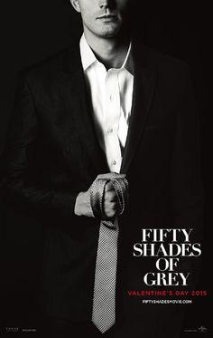 Cinquanta sfumature di grigio (Fifty Shades of Grey, USA 2015) - poster USA design by Concept Arts
