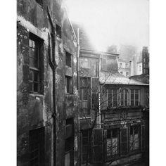 Paris, 1922 - Cour De Rohan by Eugene Atget Architecture Art Print