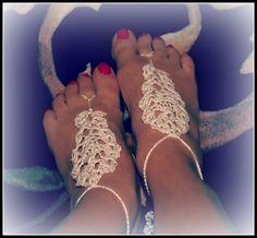 Tickled Pink: Barefoot Sandals pattern