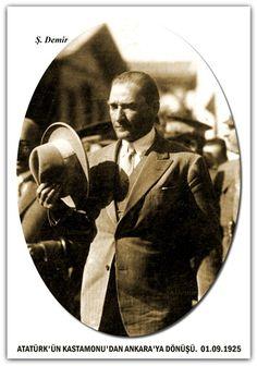 ATATÜRK'ÜN KASTAMONU'DAN ANKARA'YA DÖNÜŞÜ. 01.09.1925