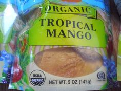 Living, Learning, Eating: Sunridge Farms Tropical Mango