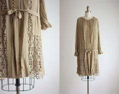 20s cutout lace dress