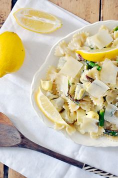 Lemon artichoke pasta - a 20 minute meal