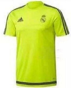 Camiseta De Entrenamiento Del Real Madrid - Verde