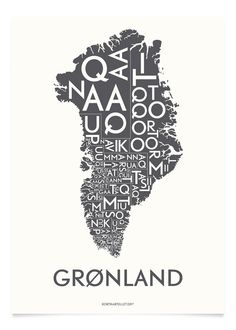 GRØNLAND - KOKSGRÅ - A5