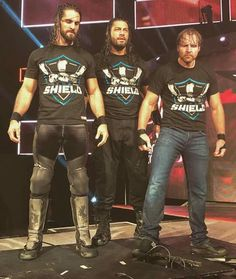Seth, Roman, Dean. The Hounds Of Justice. THE SHIELD Dick27Ambrose