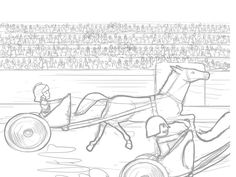 free coloring pages maddox and the chariot race