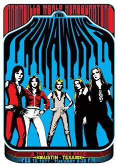 ladiesofthe70s: The Runaways (1977) | 1970's | Pinterest | Rock ...