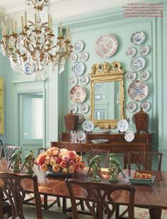 Lovely dining room, southern style