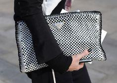 discount woven prada bag for ladies