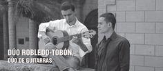 Dúo Robledo-Tobón, dúo de guitarras. Serie de los jóvenes intérpretes. El Dúo Robledo-Tobón brinda a los oyentes una propuesta llena de variedad y color....