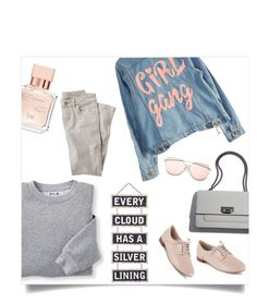 """""""Untitled #477"""" by lizsatt ❤ liked on Polyvore featuring High Heels Suicide, Blair, Clarks, Maison Francis Kurkdjian, Wrap and Silver Lining"""