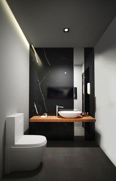 A marble and wood effect for elegant design spaces: I ...