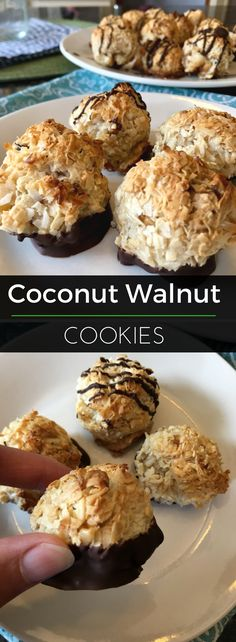 Coconut Walnut Cooki