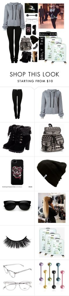 """""""airport/landing"""" by jetblacktears ❤ liked on Polyvore featuring MM6 Maison Margiela, Unravel, NLY Accessories, OtterBox, Vans and Ted Baker"""