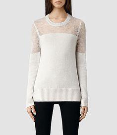 Womens Air Sweater Allsaints