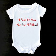Cute baby clothes or gerber onesie funny baby onesies aunt spanish baby clothes or gerber onesie spanish onesie spanish gifts futbol spanish pregnancy announcement to husband spanish shirt negle Images