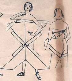 This pattern, Advance is for a diaper wrap style vintage swimsuit. We all know who was the master of the diaper swimsuit right? Diy Clothing, Sewing Clothes, Clothing Patterns, Dress Sewing, Doll Clothes, Sewing Tutorials, Sewing Crafts, Sewing Projects, Dress Tutorials
