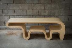 archiscene:  Bear Table by Daniel Lewis Garcia